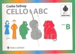 Cello ABC Book B - Geza Szilvay - Partition - laflutedepan.com