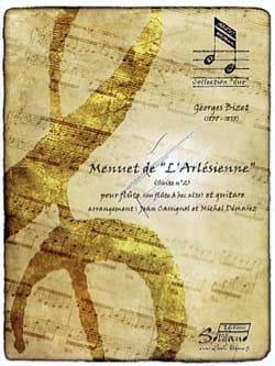 Menuet de l'Arlésienne (suite n° 2) - Georges Bizet - laflutedepan.com