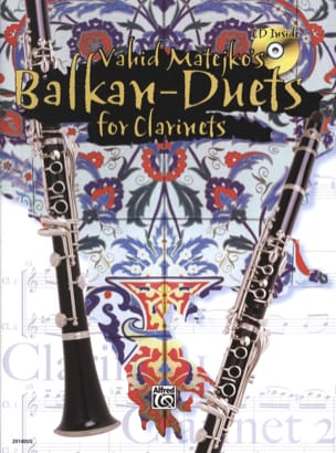 Vahid Matejko - Balkan Duets for Clarinets - Partition - di-arezzo.fr