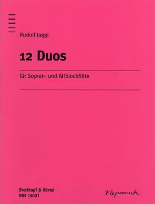 Rudolf Jaggi - 12 Duos - Partition - di-arezzo.fr