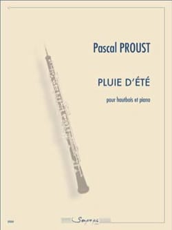 Pluie d'été Pascal Proust Partition Hautbois - laflutedepan