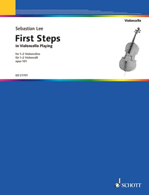 Sebastian Lee - First Steps in Violoncello Playing, op. 101 - Sheet Music - di-arezzo.co.uk