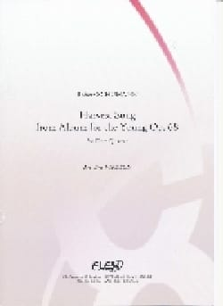 Chant du Moissonneur - 4 Flûtes - SCHUMANN - laflutedepan.com