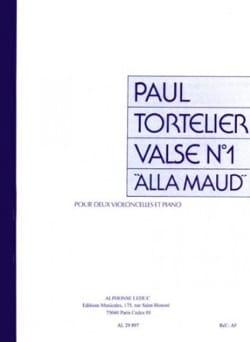 Valse n°1 Alla Maud - Paul Tortelier - Partition - laflutedepan.com