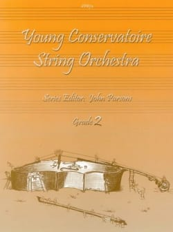 Young Conservatoire String Orchestra, Grade 2 Partition laflutedepan