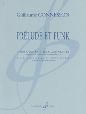 Guillaume Connesson - Prélude et Funk - Partition - di-arezzo.fr