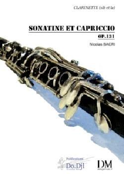 Nicolas Bacri - Sonatine et Capriccio op 131 - Partition - di-arezzo.fr
