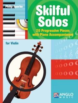 Skilful Solos - Violon - Philip Sparke - Partition - laflutedepan.com
