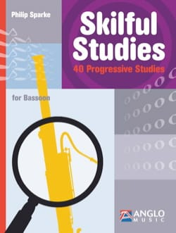 Philip Sparke - Skilful Studies - Bassoon - Sheet Music - di-arezzo.com