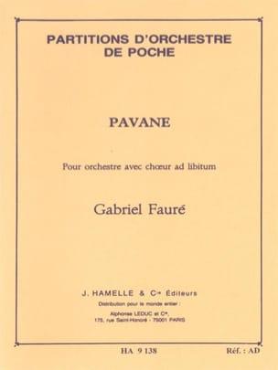 Gabriel Fauré - Pavane op. 50 - Conducteur - Partition - di-arezzo.fr