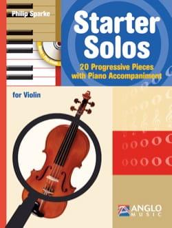 Philip Sparke - Starter Solos - Violon - Partition - di-arezzo.fr