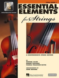 Allen - Essential elements 2000 for strings, Alto - volume 1 - Partition - di-arezzo.fr