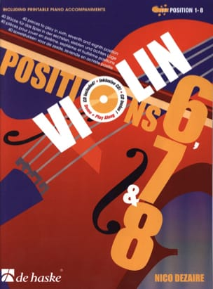 Nico Dezaire - Positions 6, 7 - 8 - Violin - Sheet Music - di-arezzo.co.uk
