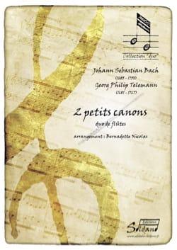 Bach Johann Sebastian / Telemann Georg Philipp - 2 Petits Canons - Partition - di-arezzo.fr