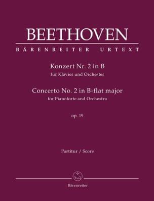 Concerto pour Pianoforte et Orchestre n° 2 en si bémol majeur, op. 19 laflutedepan