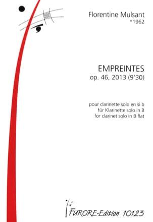 Florentine Mulsant - Empreintes, op. 46 - Partition - di-arezzo.fr