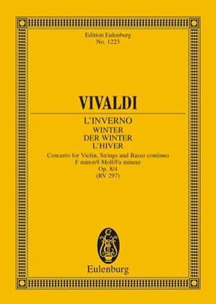 VIVALDI - Die vier Jahreszeiten, op. 8/4 - Partition - di-arezzo.com