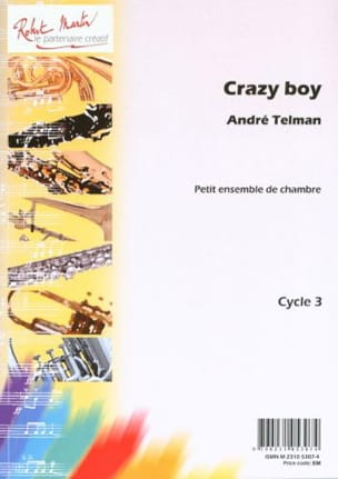 André Telman - Crazy Boy - Partition - di-arezzo.fr