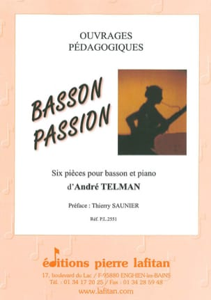 Basson Passion - André Telman - Partition - Basson - laflutedepan.com