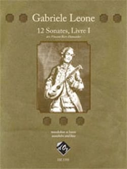 Gabriele Leone - 12 Sonatas for Mandolin and Bass Volume 1 - Sheet Music - di-arezzo.com