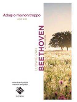 Ludwig van Beethoven - Adagio ma non troppo WoO 43b - Partition - di-arezzo.fr