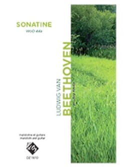 BEETHOVEN - Sonatine WoO 44a - Partition - di-arezzo.fr
