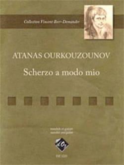 Scherzo a modo mio Atanas Ourkouzounov Partition laflutedepan