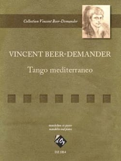Vincent Beer-Demander - Tango mediterraneo - Partitura - di-arezzo.it