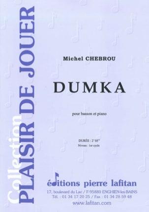 Dumka Michel Chebrou Partition Basson - laflutedepan