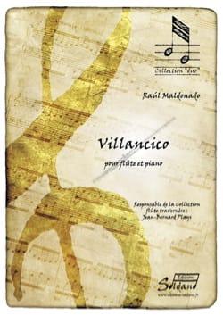Raul Maldonado - Villancico - Partition - di-arezzo.fr