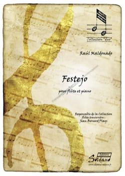 Festejo - Raul Maldonado - Partition - laflutedepan.com