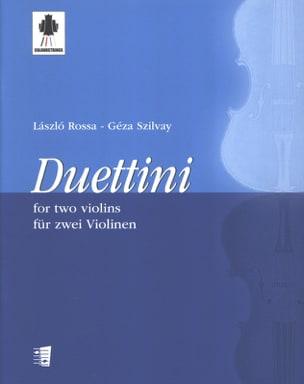 Geza Szilvay - Duettini - Sheet Music - di-arezzo.com