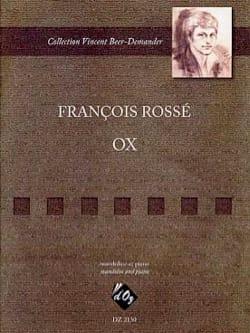 François Rossé - OX - Partition - di-arezzo.fr