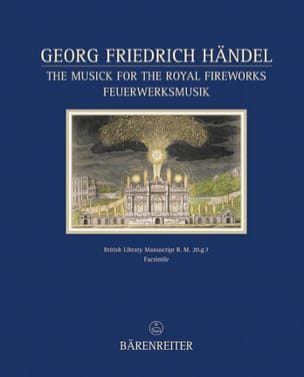 Georg Friedrich Haendel - The musik for the royal firework - Partition - di-arezzo.fr
