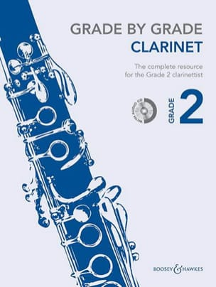 Grade by Grade Clarinet - Volume 2 Partition laflutedepan