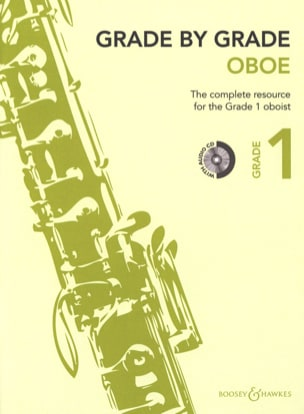 - Grade by Grade Oboe - Volume 1 - Partition - di-arezzo.fr