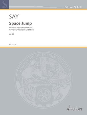 Fazil Say - Space Jump - Partition - di-arezzo.fr