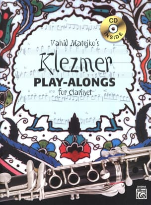 Matejko Vahid - Klezmer Play-Alongs for Clarinet - Sheet Music - di-arezzo.com