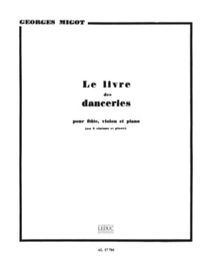 Georges Migot - Le Livre des Danceries - Partition - di-arezzo.fr
