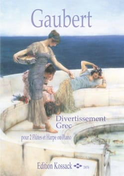 Divertissement Grec - Philippe Gaubert - Partition - laflutedepan.com