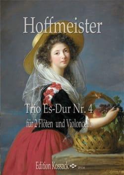 Franz Anton Hoffmeister - Trio Es Dur Nr.4 - Partition - di-arezzo.fr