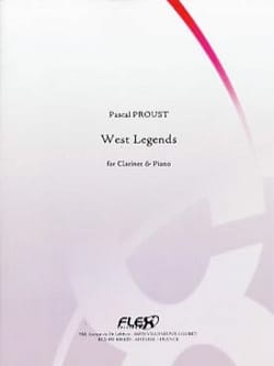 West Legends - Pascal Proust - Partition - laflutedepan.com