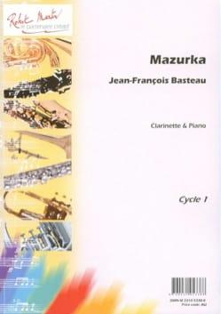 Mazurka Jean-Francois Basteau Partition Clarinette - laflutedepan
