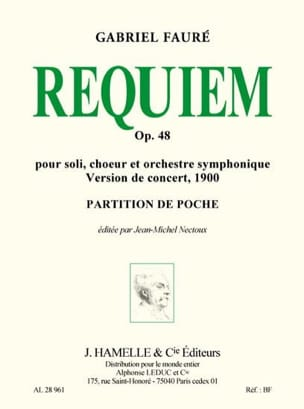 Requiem op. 48 - Version 1900 - Conducteur FAURÉ laflutedepan
