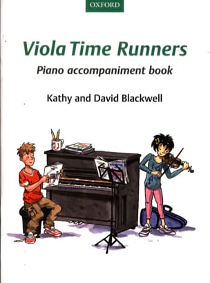 Viola Time Runners - Piano accompaniment book - Partition - di-arezzo.fr