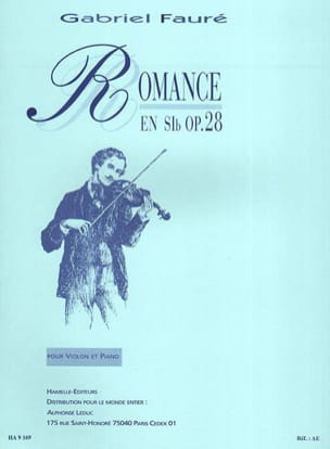 Gabriel Fauré - Romance op. 28 in Si b - Sheet Music - di-arezzo.co.uk