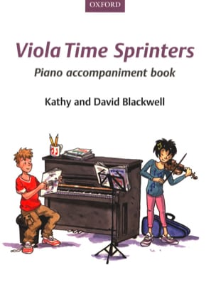 Viola Time Sprinters - Piano accompaniment book laflutedepan