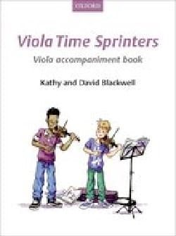- Viola Time Sprinters - Viola accompaniment book - Partition - di-arezzo.fr