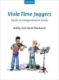 Viola Time Joggers - Viola accompaniment book Partition laflutedepan