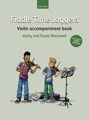 Fiddle Time Joggers - Violon accompaniment book laflutedepan
